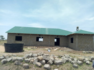 School Project in the Mara Conservancy almost completed! September 2017