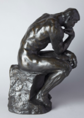 Rodin's thinker knew that thought without action can leave you immobilized. Time to get in the game! 4/27 live webinar with Christel Nani