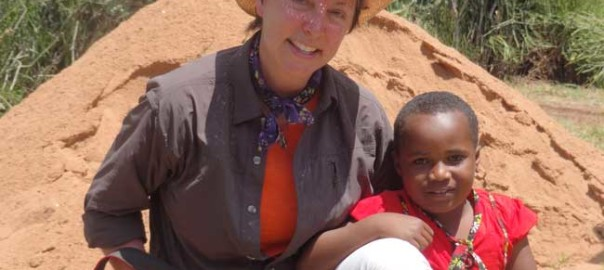 "Christel Nani in Africa. ""Kindness is the language the deaf can hear and the blind can see."" M. Twain"