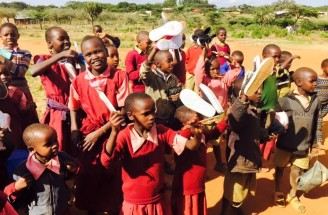 Shoes for Kenya children